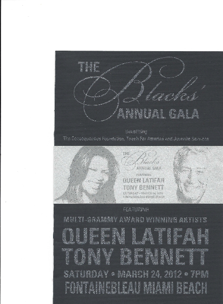 The Blacks\' Annual Gala 2012