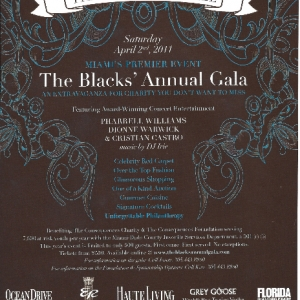 The Blacks\' Annual Gala 2011