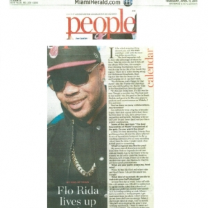 The Miami Herald Flo Rida 4/11/13